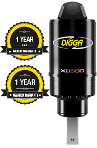 Digga North America - XD500 Auger Drive Unit