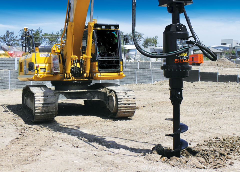Digga North America - Auger, Anchor & Foundation Drives Specialists