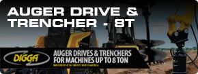 Digga North America - Auger Drives & Trenchers up to 8t Brochure