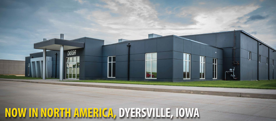 Digga North America Head Office - Dyersville, Iowa