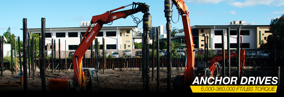 Digga North America - Foundation Screw Anchor Drive Specialists for Piling Applications.