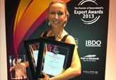 Digga North America - Suzie Wright - Gold Coast Business Excelennce and Dermot McManus Awards 2013